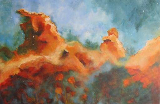 THE CYGNUS MOUNTAIN NEBULA