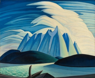 Lake and Mountains by Lawren Harris