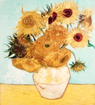 12 Sunflowers by Vincent Van Gogh