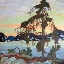 Jack Pine in the Manner of Tom Thompson (SOLD(SOLD)