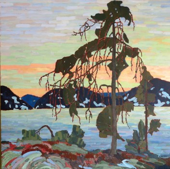 Jack Pine in the Manner of Tom Thompson (SOLD)